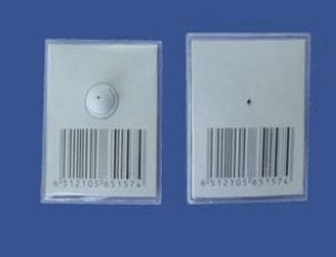 75mm x 59mm Square Large Card Tag with Clutch RF 8.2MHz (A-002)