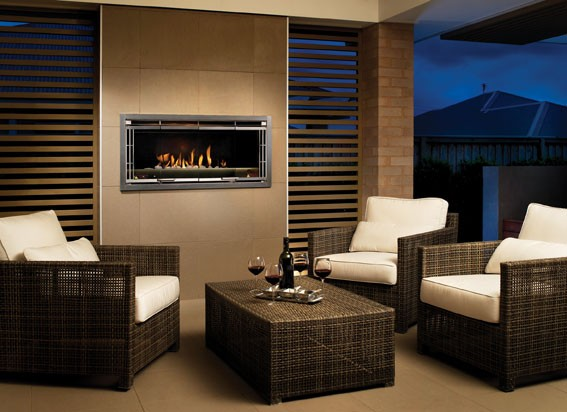 Luminaire Single & Double Sided Outdoor Fire