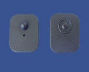 70mm x 58mm Large Square Hard Tag RF 8.2 MHz (T-002)