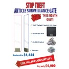 Crown Vision Guard Stop Theft Article Surveillance Gate Package