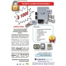Crown Vision Guard Security Alarm System Bundle