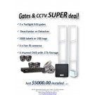 Crown Vision Guard Gates and CCTV SUPER DEAL!