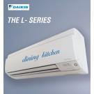 Daikin Hi-Wall Split Inverter Reverse Cycle 'L' Series, Cool 4.6kW, Heat 5.1kW