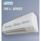 Daikin Hi-Wall Split Inverter Reverse Cycle 'L' Series, Cool 5.0kW, Heat 6.0kW