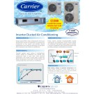 Carrier 6 outlet kit system, includes duct work and material
