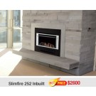 Rinnai Slimfire 252 Inbuilt Gas Log Flame Fire