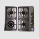 Levante 60cm Gas Cooktop - Stainless Steel