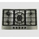 Levante 90cm Gas Cooktop - Stainless Steel