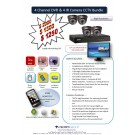 Crown Vision Guard 4 Channel CCTV Bundle