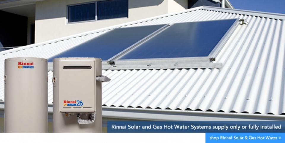 Rinnai Solar and Gas Hot Water